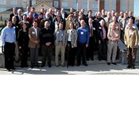 Group photo of about 50 members of the stakeholder group