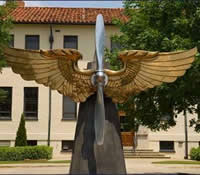 US Air Force War College statue
